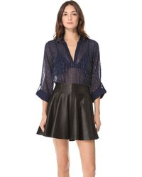 Rory Beca - Laura Beaded Blouse - Lyst