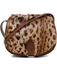 A.P.C. Sac Besace Leopard Bag  - Lyst