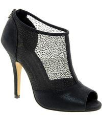 Asos Asos Twilight Peep Toe Shoe Boots - Lyst