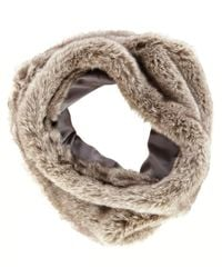 Oasis Fur Snood - Lyst