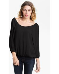 James Perse Blouse - Lyst