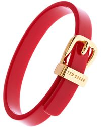 Ted Baker Ted Baker Narrow Belt Buckle Bangle - Lyst