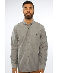 Vans The Crandall Buttondown Shirt in Black - Lyst
