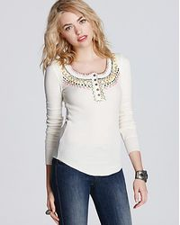 Free People Top Money Thermal - Lyst