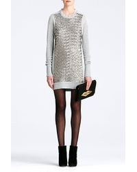 Diane von Furstenberg Danette Sweater Dress - Lyst