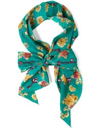 ModCloth Head Shoulders Keys and Toes Scarf - Lyst
