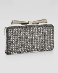 Overture Judith Leiber - Carrie Woven Leather Clutch Bag  - Lyst