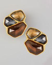 Alexis Bittar - Bel Air Cluster Clip Earrings - Lyst
