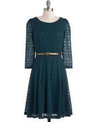 ModCloth Pointelle Me All About It Dress - Lyst