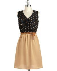 ModCloth A Slice Of Coffee Cake Dress - Lyst