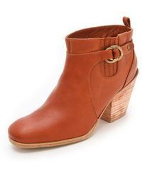Rachel Comey Hitch Buckle Booties - Lyst