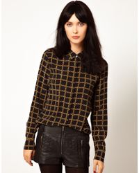 Equipment Chain Link Shirt - Lyst