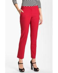 Vince Camuto Skinny Ankle Pants - Lyst
