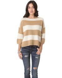 Juicy Couture New Jocelyn Striped Sweater - Lyst