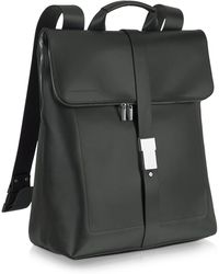 Porsche Design - Black Leather Zippered Backpack - Lyst