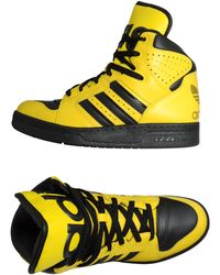 Jeremy Scott for adidas | Hightop Sneaker | Lyst