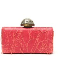 Kelly Wearstler | Embroidered Thread Clutch | Lyst