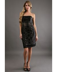 Sue Wong Elaborate Embroidery Dress 50% Off - Lyst