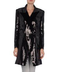 Dolce & Gabbana Velvet Coat - Lyst