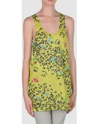 Betsey Johnson | Sleeveless T-shirt | Lyst