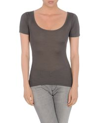 Donna Karan New York Short Sleeve Tshirt - Lyst