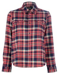 A.P.C. Plaid Shirt - Lyst