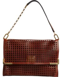Chloé Perforated Medium Sennen Bag - Lyst