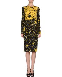 Dolce & Gabbana Knee- Length Dress - Lyst