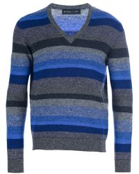 Etro Striped Sweater - Lyst
