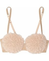 Jean Paul Gaultier La Perla Collection Créatuer Frou Frou Ruffled Tulle Underwired Bra - Lyst