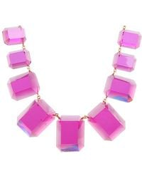 Kate Spade Jumbo Jewels Graduated Necklace - Lyst
