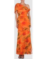 Patricia Avendaño Long Dress - Lyst