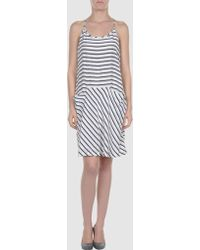 Theory Short Dress - Lyst