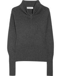 Saint Laurent Wool and Cashmereblend Sweater - Lyst