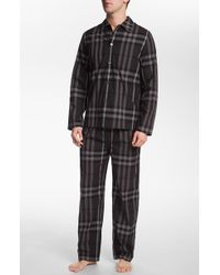Burberry London Pajama Set - Lyst