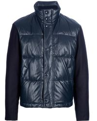 Givenchy Padded Jacket with Contrast Sleeves - Lyst