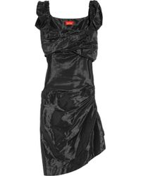 Vivienne Westwood Red Label - Asymmetric Taffeta Dress - Lyst