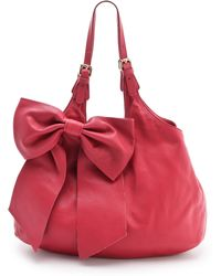 RED Valentino Bow Shoulder Bag - Lyst