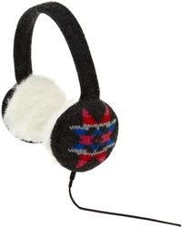Therapy Snowflake Knit Headphones - Lyst