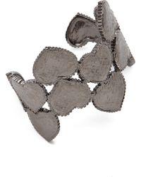 Tuleste - Heart Cuff Bracelet - Lyst