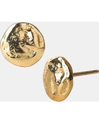 Argento Vivo Bauble Bar Stud Earrings - Lyst
