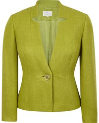 Cc Elegant Tailored Jacket Cut From Textured Fabric - Lyst