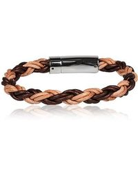 Chic Jewel Couture Leather Bracelet - Lyst
