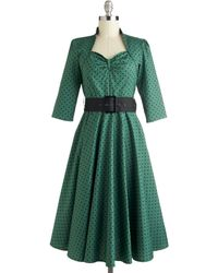 ModCloth Pine For The Past Dress - Lyst