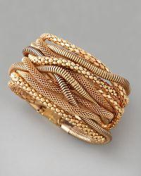 Cara - Multichain Magnetic Bracelet - Lyst