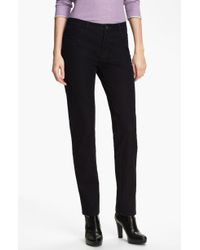 Lafayette 148 New York Slim Leg Curvy Stretch Jeans - Lyst