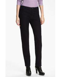 Lafayette 148 New York Slim Leg Curvy Stretch Jeans - Lyst