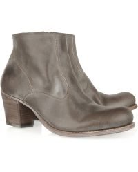 NDC - Barrage Washed-leather Ankle Boots - Lyst