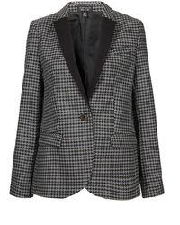 Topshop Smashing Tweed Blazer - Lyst