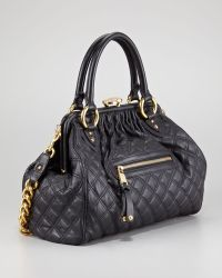 Marc Jacobs Stam Quilted Leather Satchel Bag - Lyst